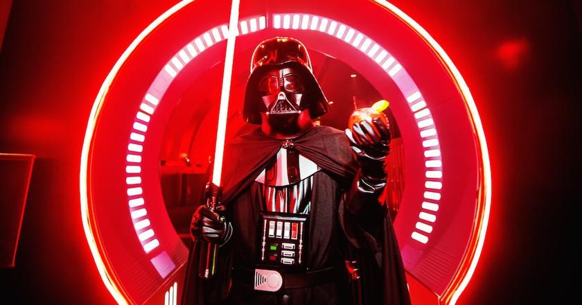 Sometimes, even Vader needs to unwind   Courtesy of The Dark Side Bar