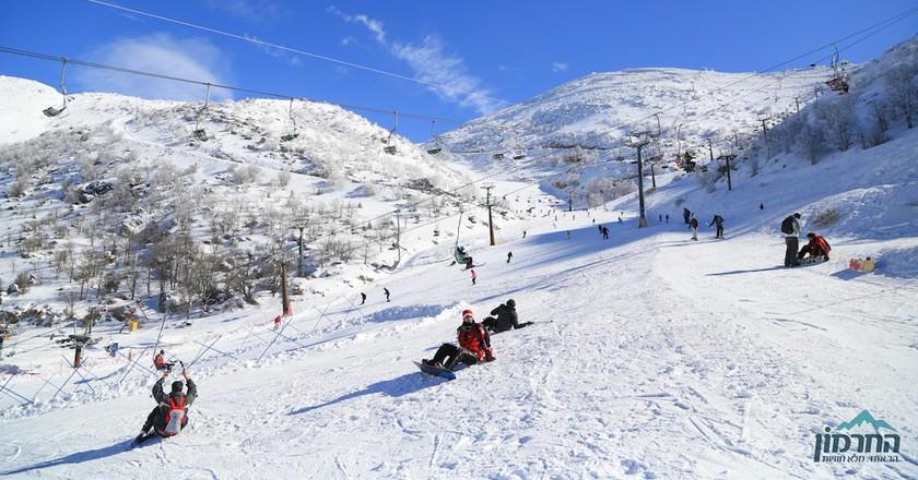 Mount Hermon Ski Resort, Israel   © Shai Kedar