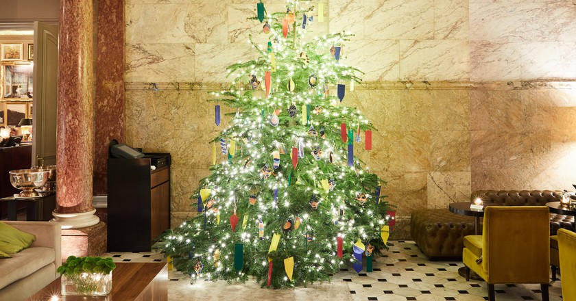 John Booth's Christmas Tree | Courtesy of The London EDITION