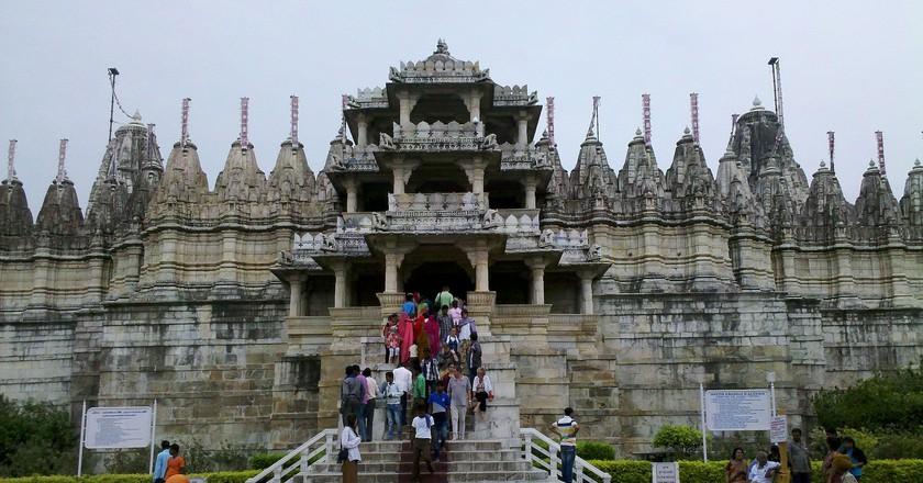 Jain temple at Ranakpur, Rajasthan   © Mouyse/Wiki Commons