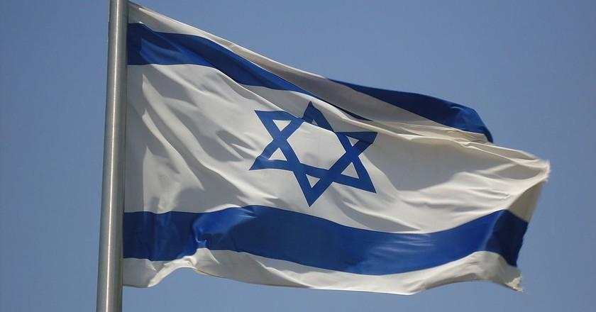 Israel's flag   © joshuapiano/WikiCommons