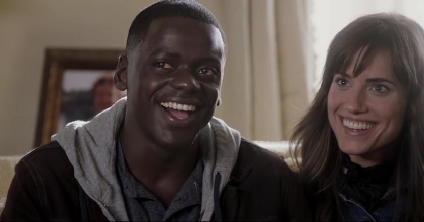 Daniel Kaluuyah and Allison Williams in 'Get Out' | © Universal Pictures