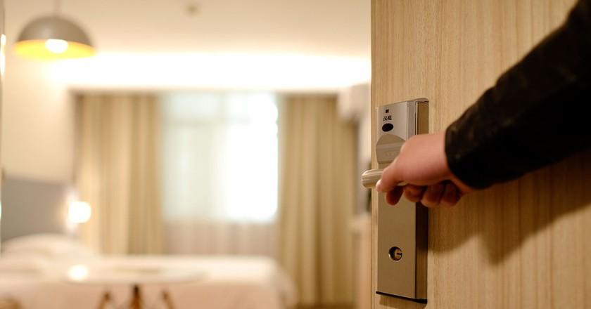 Hotel Door | © Pixabay
