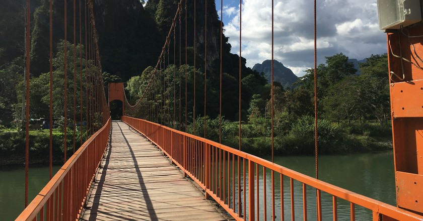Bridge to Tham Chan | © Regina Beach/Culture Trip