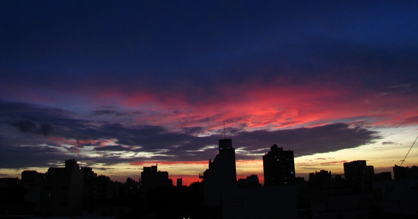 Sunset over Buenos Aires - just one good reason to visit in 2018 | © K.B.L. Luccia / Flickr