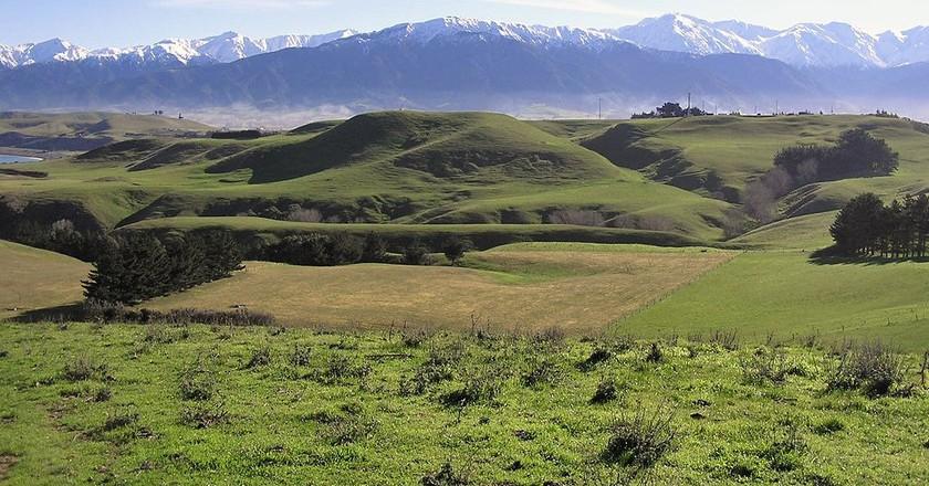 Kaikoura Peninsula and Mt Fyffe | © Wikimedia Commons
