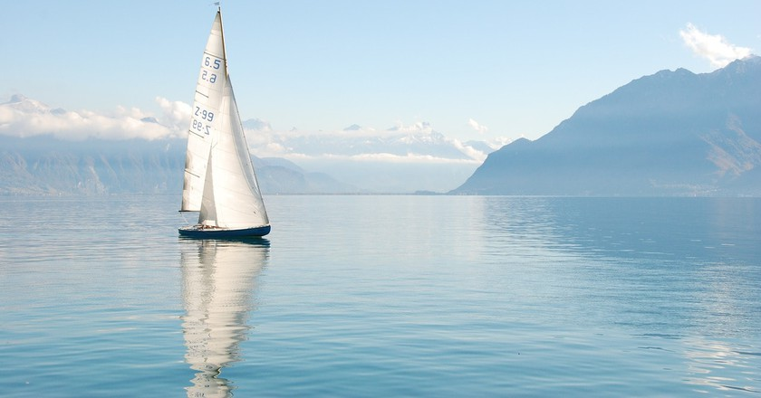 Dozens of shipwrecks lie underneath Lake Geneva's calm waters | © leinadbuescher / Pixabay