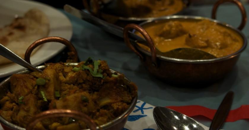 Tasty Indian food in Buenos Aires | © Lindsay Holmwood/Flickr