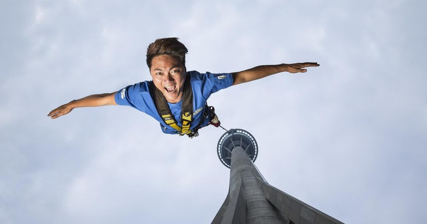 Jump to it | © Courtesy of AJ Hackett Macau Tower