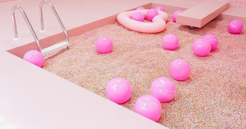 Sprinkles Pool at Museum of Ice Cream in Miami