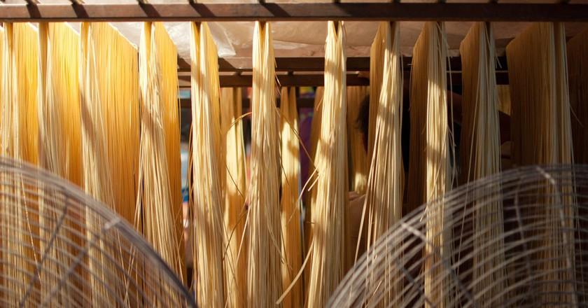 Noodle Making   ©  Mills Baker