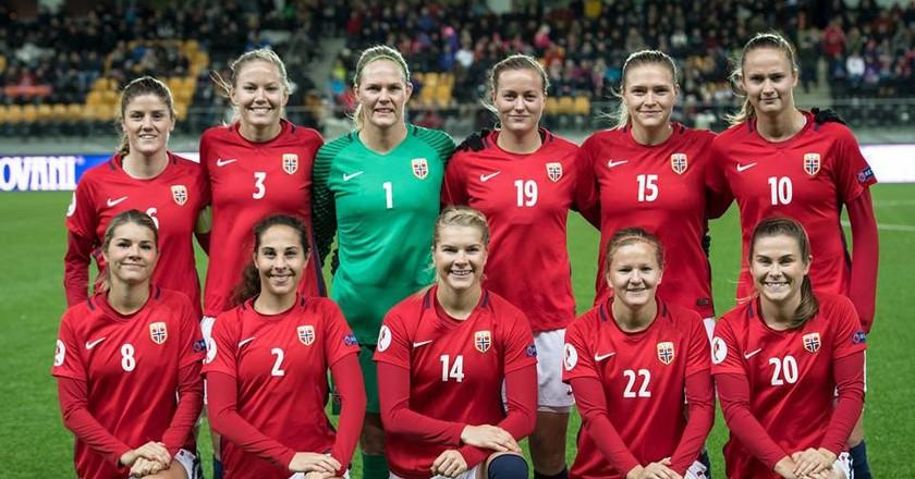 Norway's women's national football team   Courtesy of Fotballandslaget