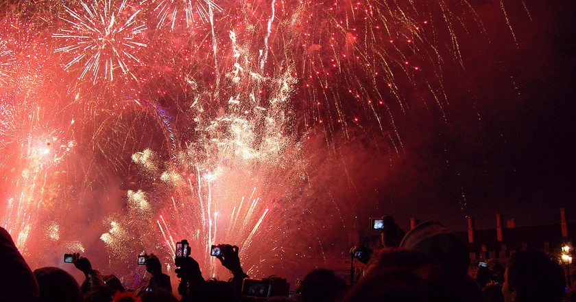 New Year's Eve fireworks |