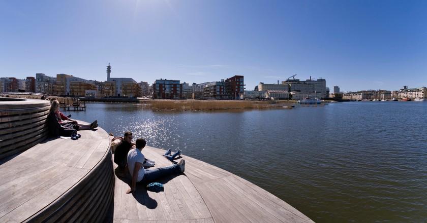 Hammarby Sjöstad   © Ola Ericson / imagebank.sweden.se