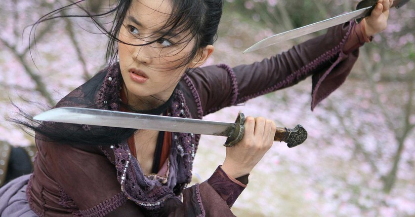 Liu Yifei in 'The Forbidden Kingdom' (2008) | Courtesy ofChina Film Co-Production Corporation