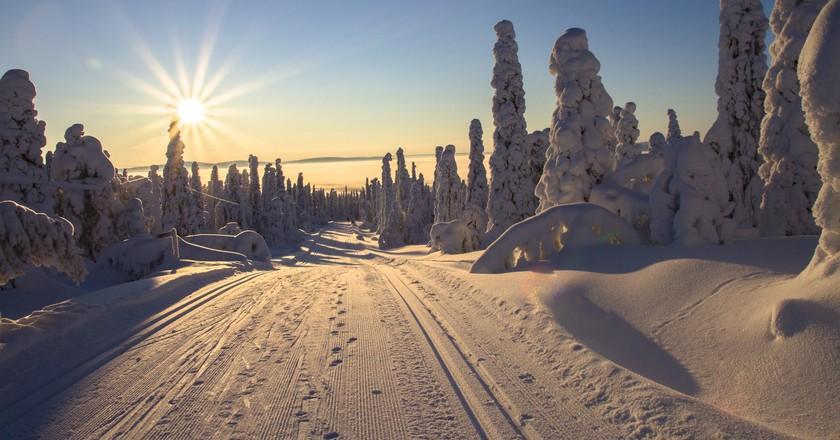 Road in Lapland   © adege / Pexels
