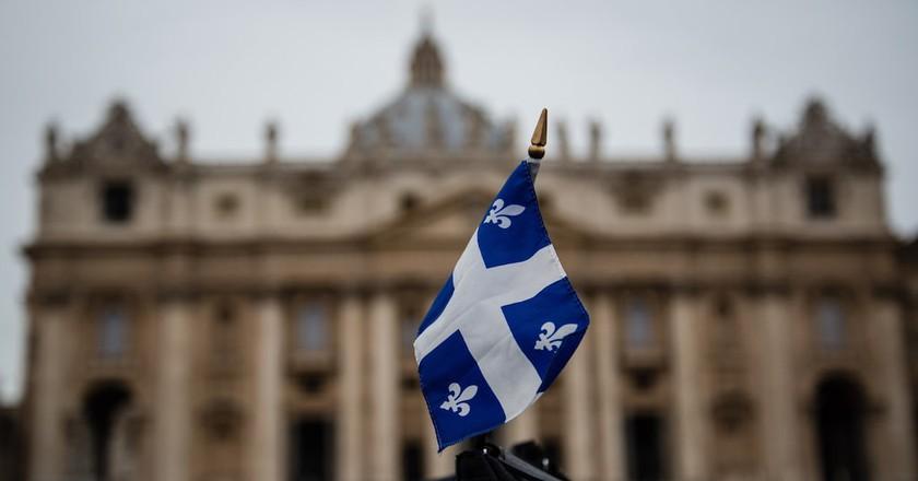 Quebec Flag   © michael_swan/ Flickr