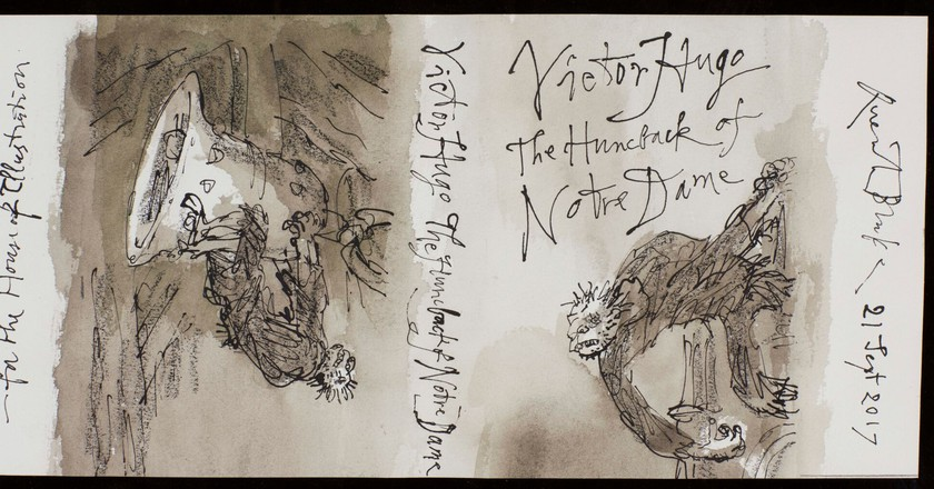 Quentin Blake Hunchback of Notre Dame | © Sotherby's