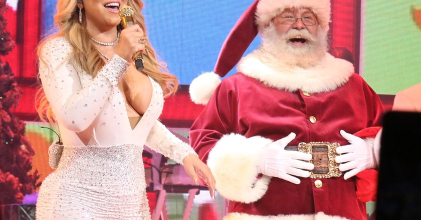 'All I Want for Christmas Is You' concert, New York, USA | © Gregory Pace/REX/Shutterstock