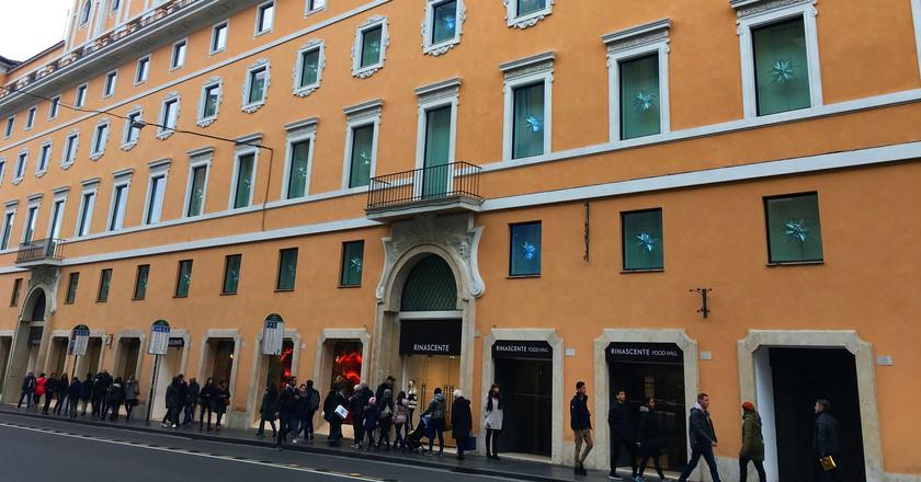 The new Rinascente flagship store on Via del Tritone | © Emma Law