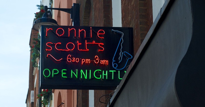 Ronnie Scott's Jazz Club | © Wikimedia Commons