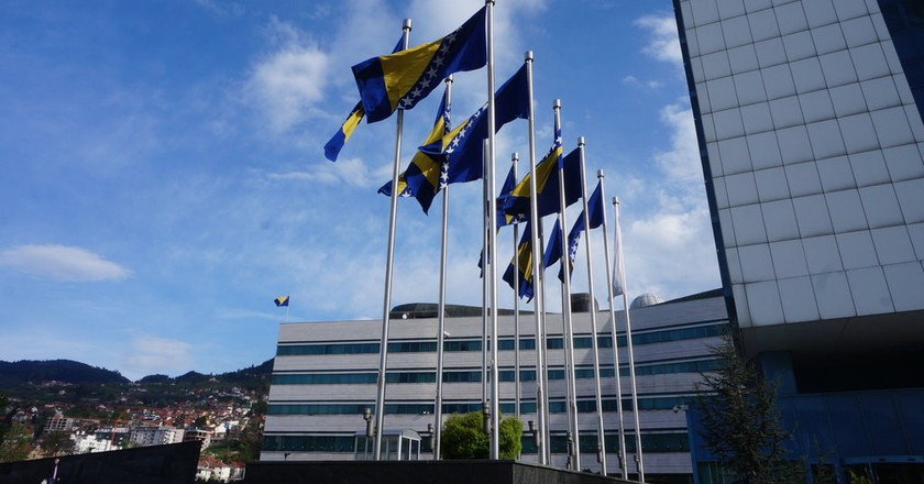 Bosnia Flag | © Sam Bedford