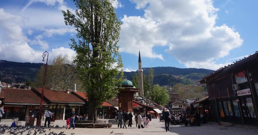 Sarajevo Bascarsija | © Sam Bedford
