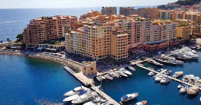 Monaco Harbour  © JimboChan / Pixabay