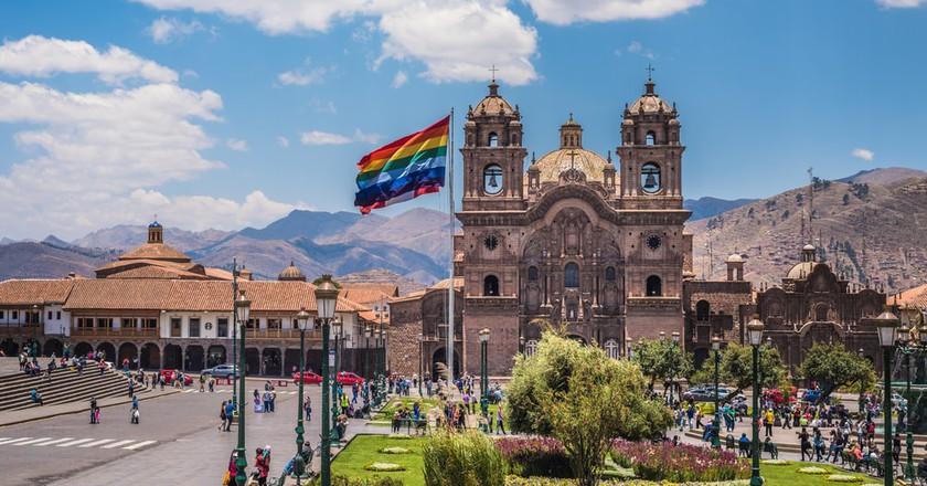 Cusco's Plaza de Armas   © javarman / Shutterstock
