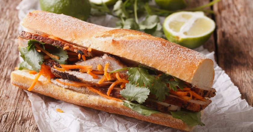 The one and only bánh mì sandwich