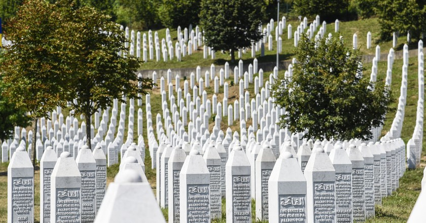 The Srebrenica-Potocari memorial and cemetery | © ToskanaINC/Shutterstock