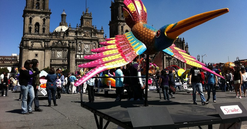 The Mexico City Zócalo│© phoebecole17/Pixabay