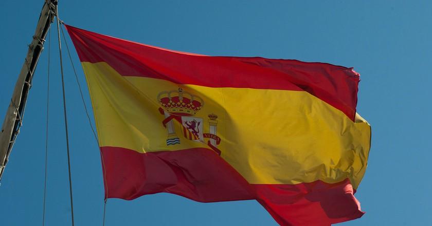 Spanish flag|©jackmac34/Pixabay