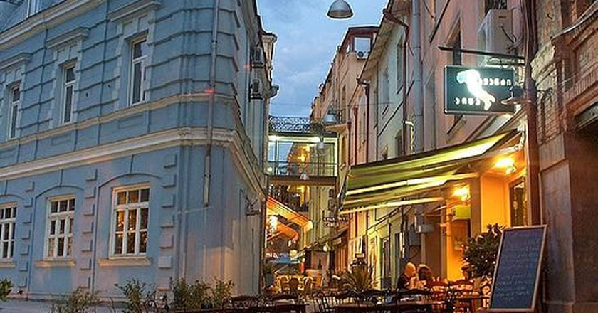 Street of Cafes in Tbilisi   © Marko Petrovic / WikiCommons