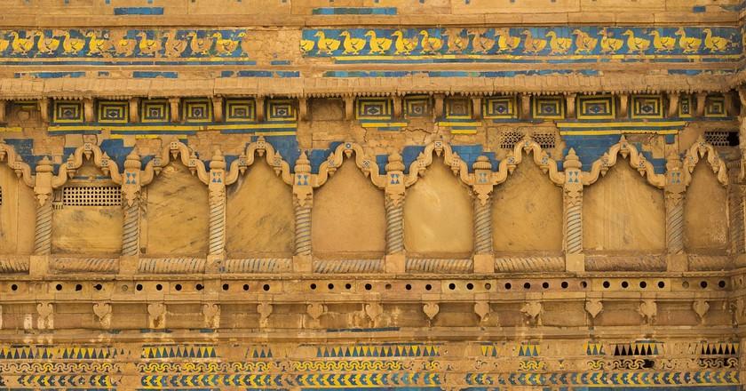 Wall of Man Singh Palace   © thakurankush1989/Pixabay