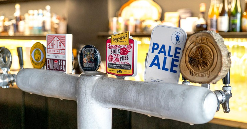 Beer Taps | Courtesy of Where's Nick