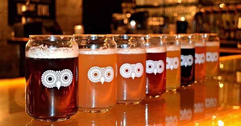 Take your pick of beers   © Courtesy of The White Owl