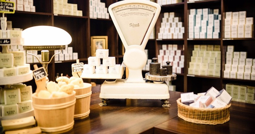 The beautiful soap shop | Courtesy of Wiener Seife