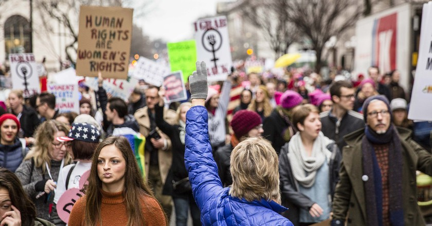 The Women's March on D.C. | Amanda Suarez / © Culture Trip