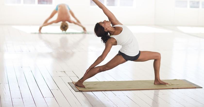 Graz boasts a plethora of yoga studios