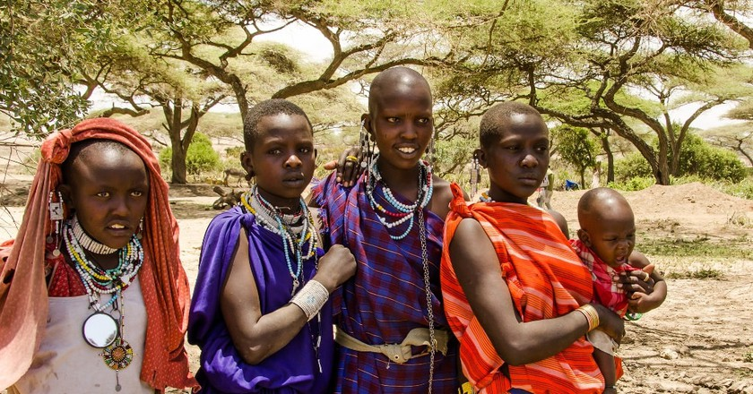 Young Masaai women | © Colin J. McMechan/Flickr