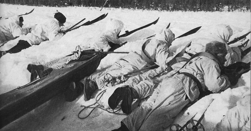 Finnish soldiers in World War Two   Public domain / WikiCommons