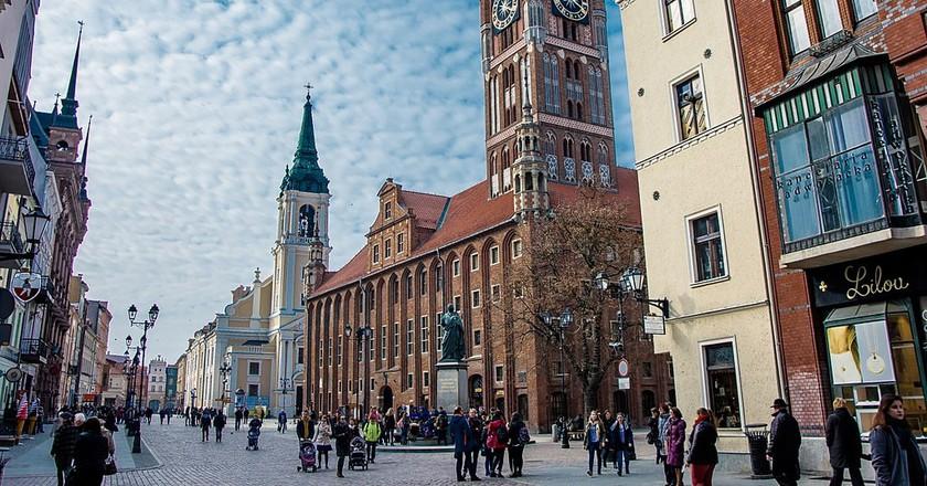 Toruń   © Domun / WikiCommons