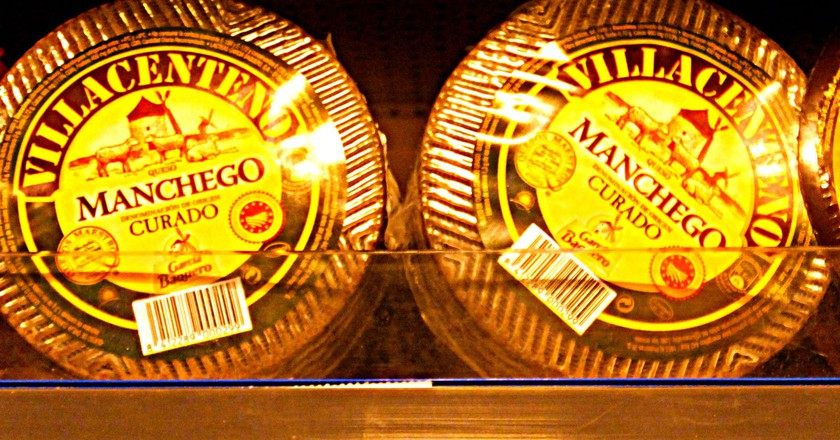 Manchego cheese | © Nacho / Flickr