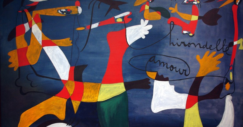 Works by the Catalan surrealist Joan Miró can be enjoyed in Almeria's galleries   © Mike Steele/flickr