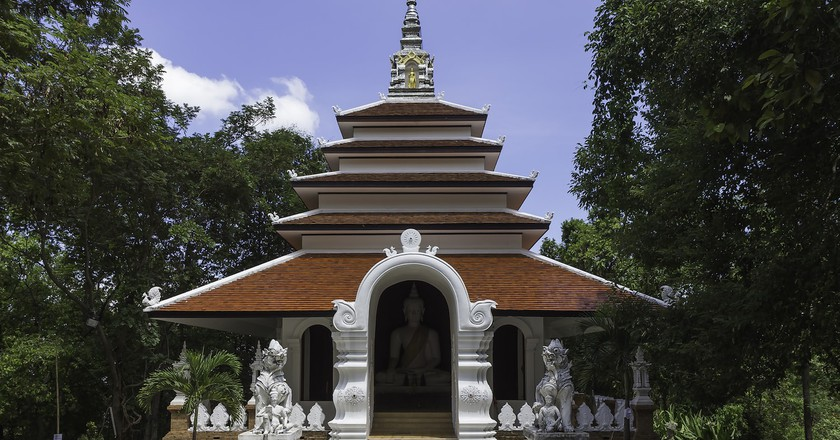 Beautiful Wat Pha Lat | © Stefan Fussan/Flickr