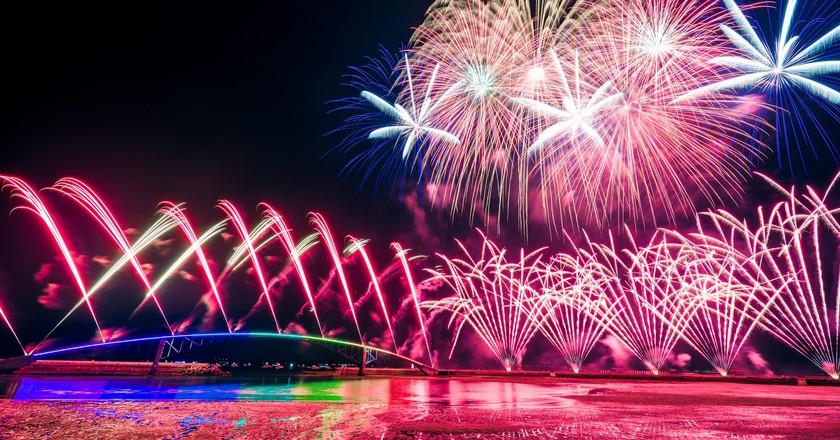 Penghu Fireworks Festival | © Wei-Te Wong / Flickr