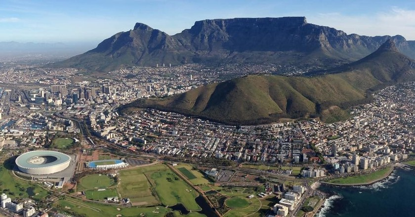 Aerial view of Cape Town | © Andrew Thompson