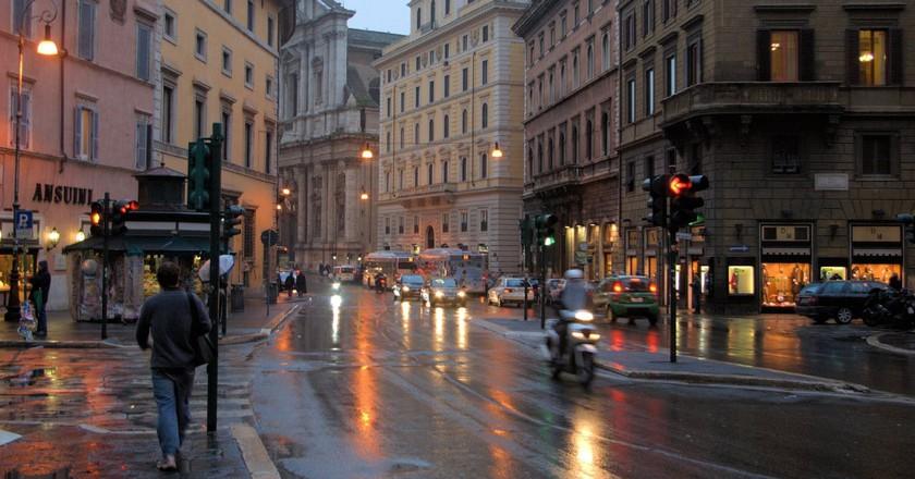 Rome in the rain   © L. Allen Brewer/Flickr