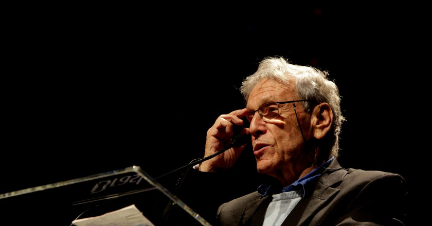 Amos Oz | © Fronteiras do Pensamento / Greg Salibian / Flickr